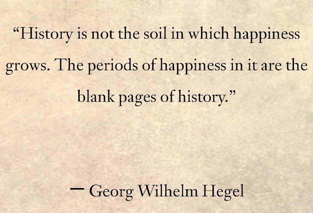 Georg Wilhelm Hegel History Quotes