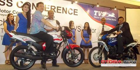 Motor India TVS Tebar 'Bonus' Sampai Tahun 2015