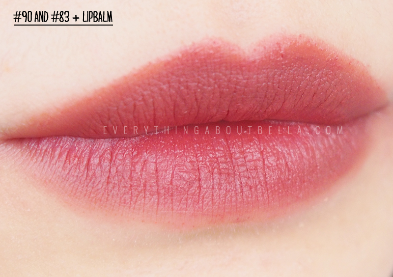 Purbasari Lipstick Color Matte Review & Swatches