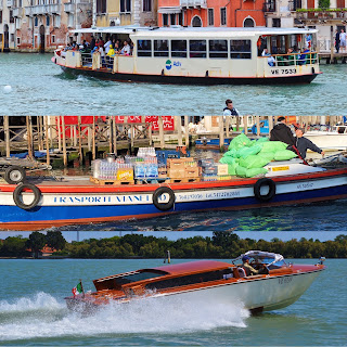 Venetian Transport, Boats