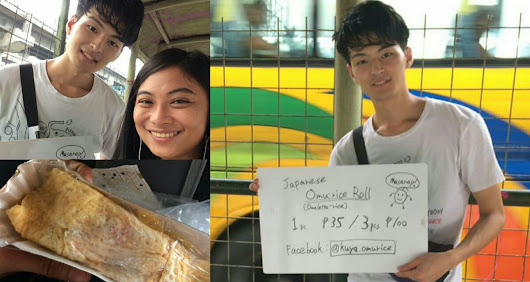 LOOK: Japanese Street Vendor Charms Netizens Anew With His Omu Rice