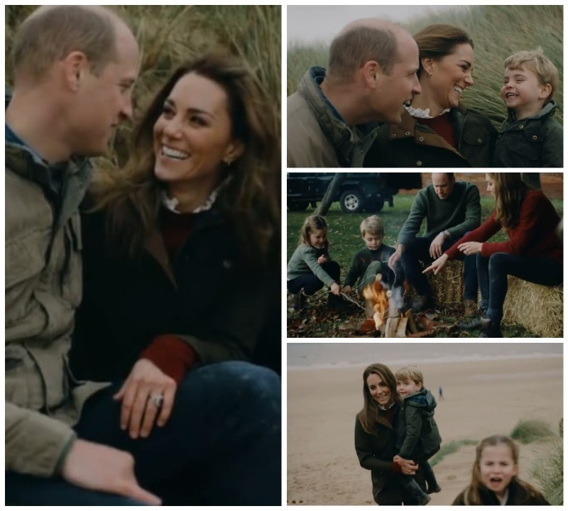 William and Family release family videos