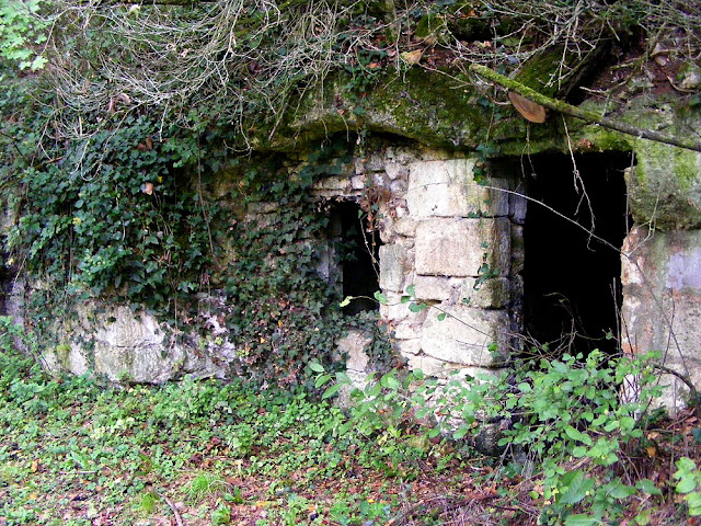 Abandoned troglodyte cave home, Indre et Loire, France. Photo by Loire Valley Time Travel.