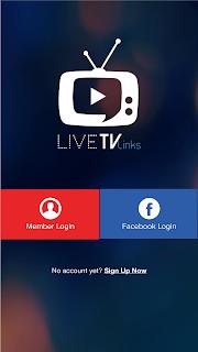 تحميل تطبيق live tv links
