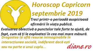Horoscop septembrie 2019 Capricorn