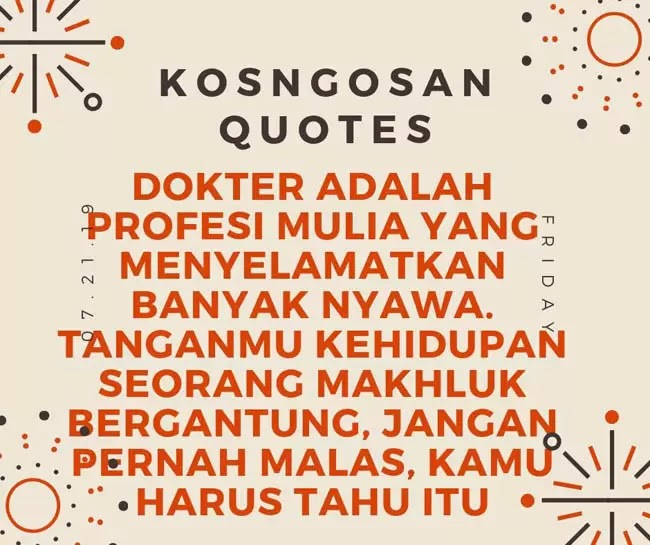 quotes dokter tenaga medis