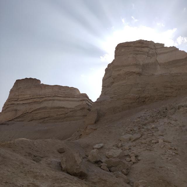 הר סדום -גבישי מלח