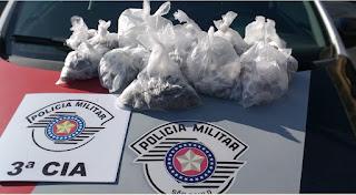 POLÍCIA MILITAR PRENDE HOMEM COM DOIS QUILOS DE DROGAS EM ILHA COMPRIDA