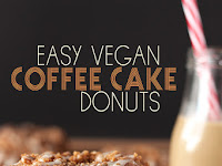 EASY VEGAN COFFEE CAKE DONUTS