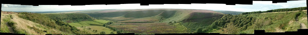 Panorama of the Hole of Horcum