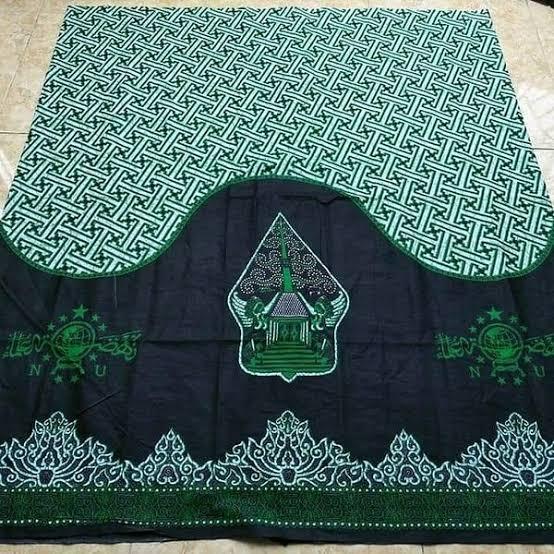 Sarung Batik Nu Motif Wayang Mekar