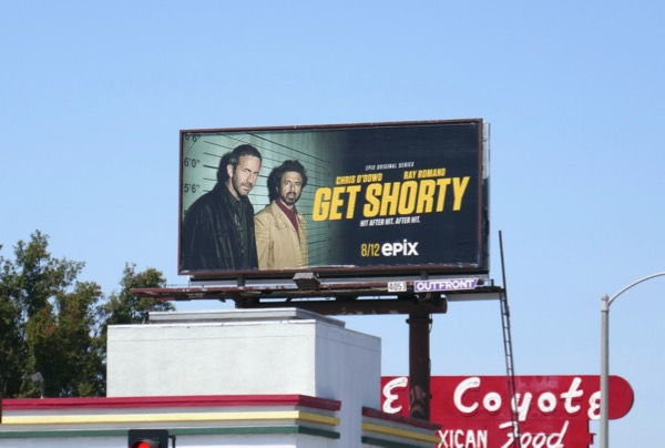 Get Shorty season 2 billboard