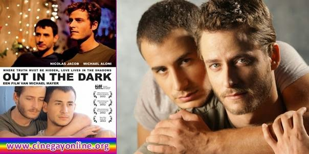 Out in the dark, película