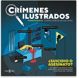 «Crímenes ilustrados» de Modesto García