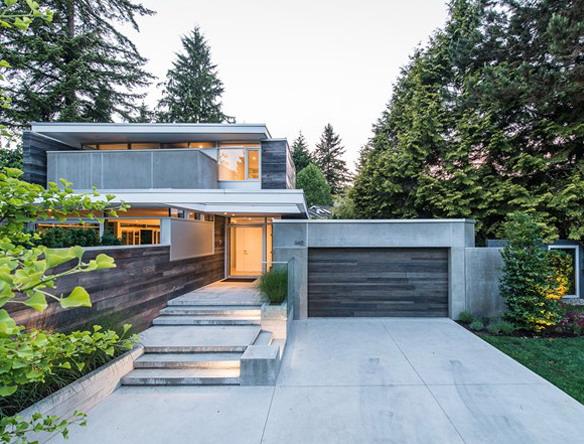 Desain Rumah Kaca Sudut Minimalis - Design Rumah Model Terbaru