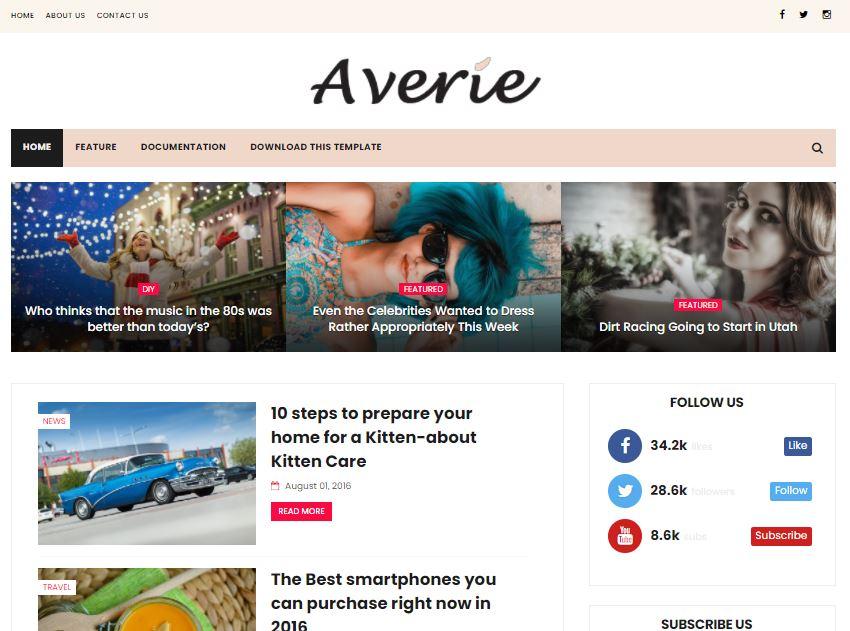 Averie-premium-version-responsive-blogger-template-free-download