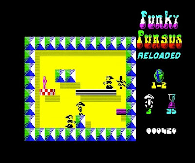 Funky Fungus Reloaded. ZX Spectrum