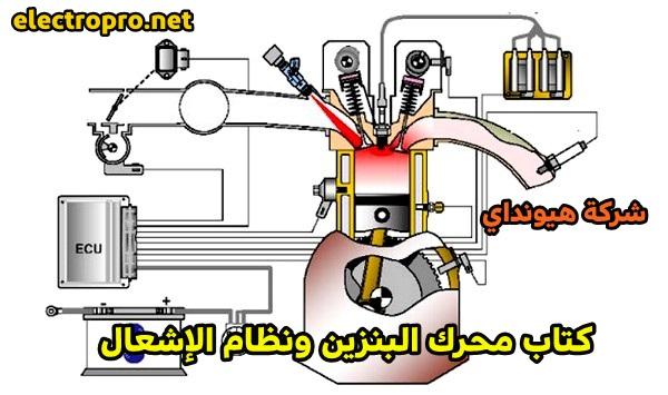 كتاب محرك البنزين ونظام الإشعال من شركة هيونداي