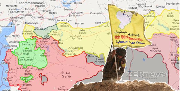 DSG QSD Suriye Demokratik Güçleri Deyrezzor rejim iran hizbullah