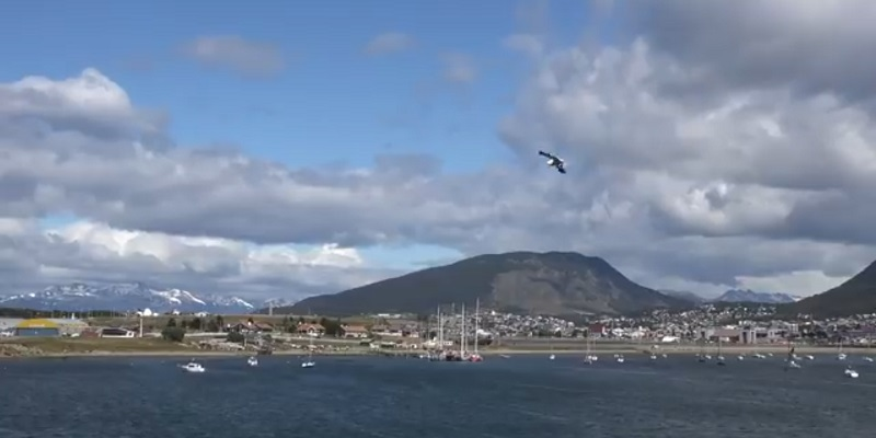 Ushuaia tourist place in south america