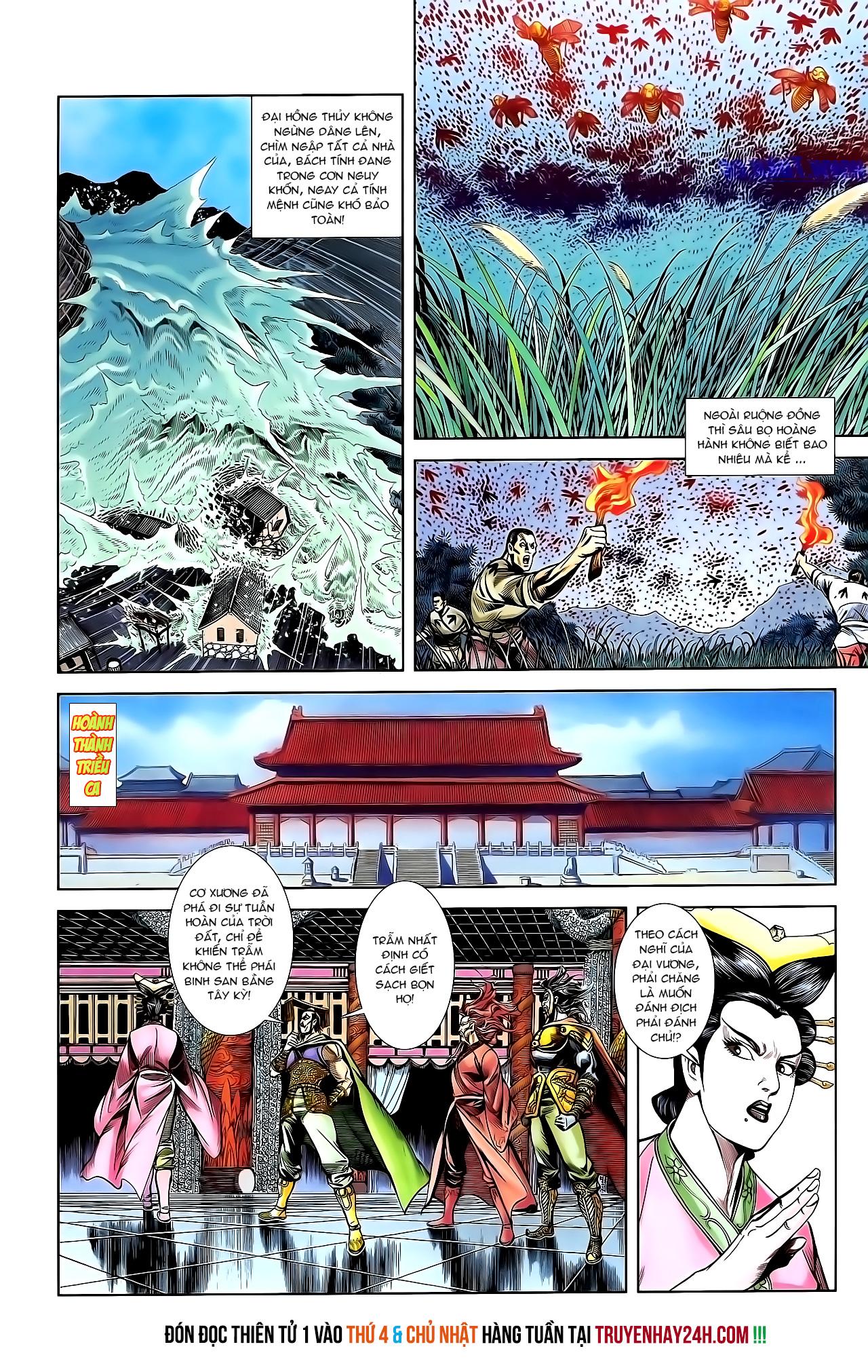 Cơ Phát Khai Chu Bản chapter 152 trang 28
