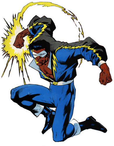 Black Lightning en los 70
