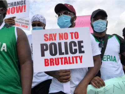Runtown And Falz #ENDSARS Peaceful Protest Ongoing In Lagos (See Photos)