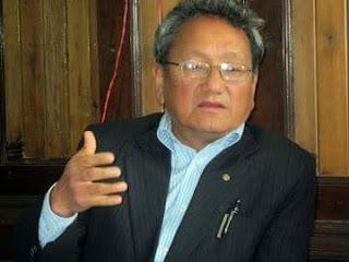Darjeeling Municipal Chairman Mr. Amar Singh Rai