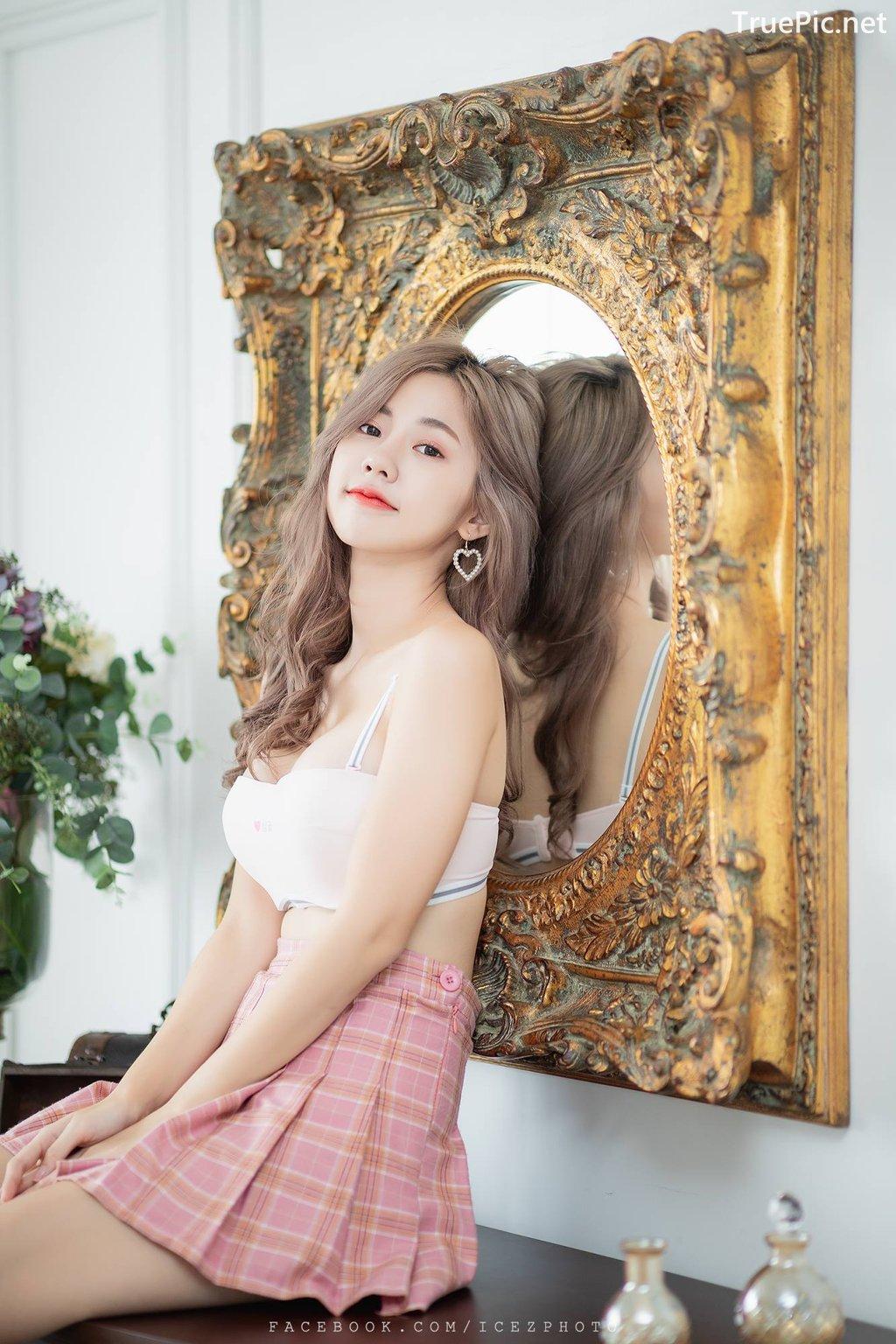 Image-Thailand-Hot-Girl-Nilawan-Iamchuasawad-So-Beautiful-With-White-Bra-and-Miniskirt-TruePic.net- Picture-2