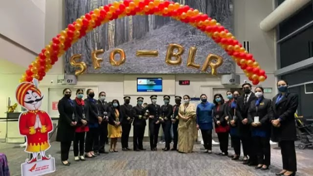 All-women Air India crew fly first non-stop flight from San Francisco to Bengaluru