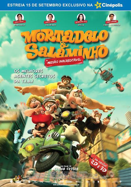 """#PIPOCA: Premiada animação """"Mortadelo & Salaminho - em Missão Inacreditável"""" tem sua estreia nos cinemas brasileiros"""