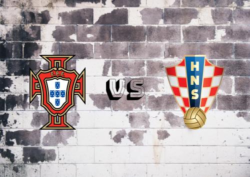 Portugal vs Croacia  Resumen y Partido Completo