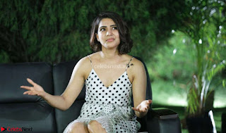 Samantha Ruth Prabhu looks super cute in a deep neck sleeveless short dress ~ Exclusive 014