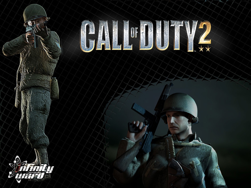 Call Of Duty Wallpaper Hd: HD WALLPAPERS: Call Of Duty 2 HD Wallpapers