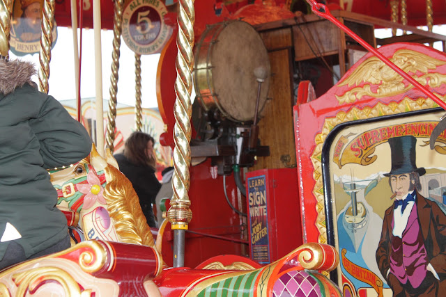 A functioning Carters Steam fair ride tool.