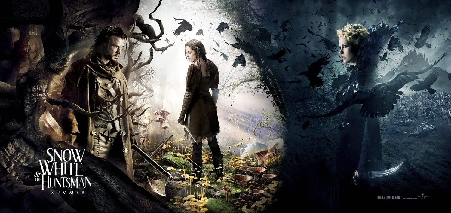 Designing A Fairy Tale Part I Snow White And The Huntsman