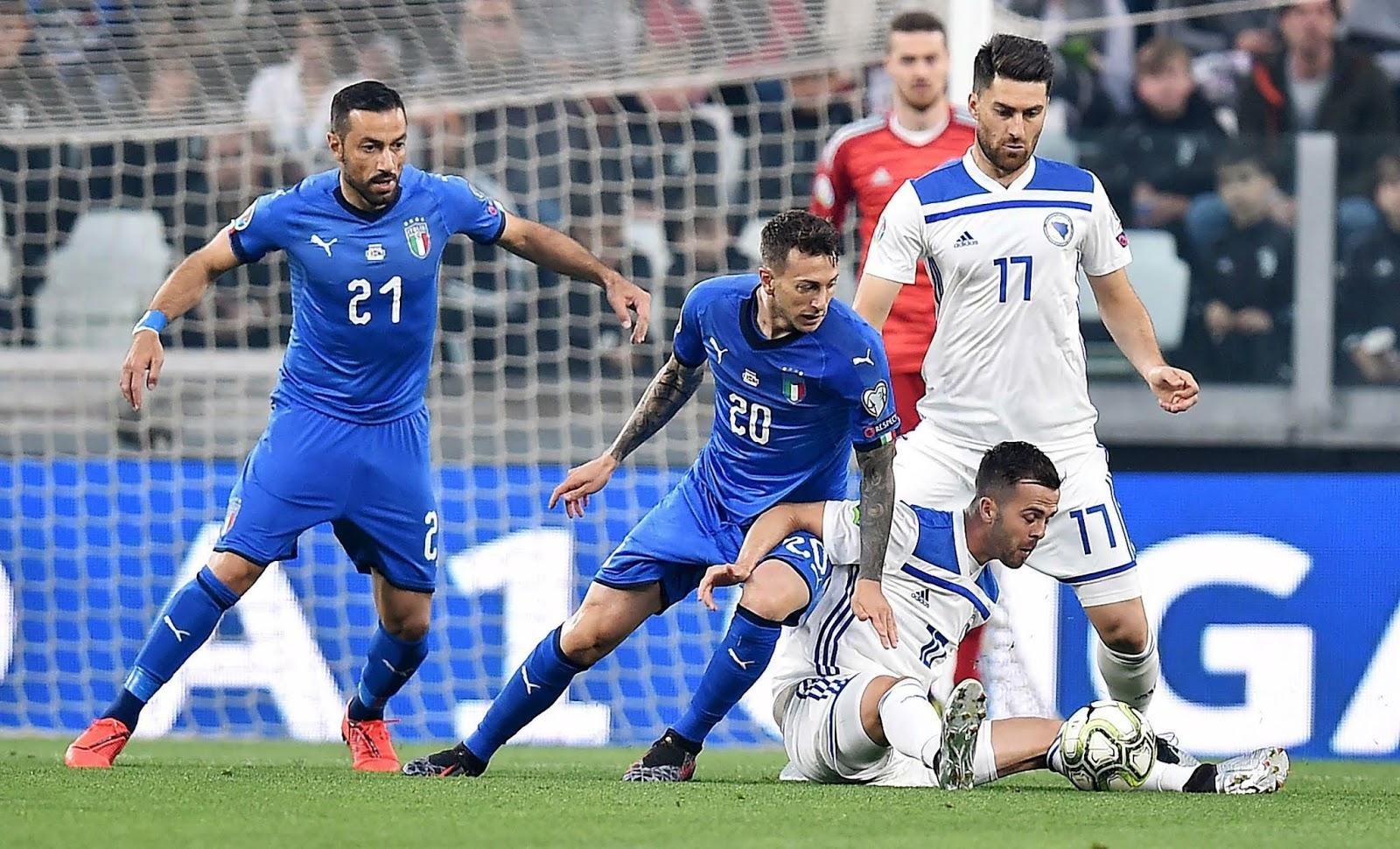 Prediksi Euro Qualification Bosnia VS Italia 16 November 2019