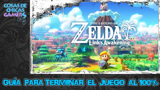 Guía para completar TLoZ Link Awakening Remake