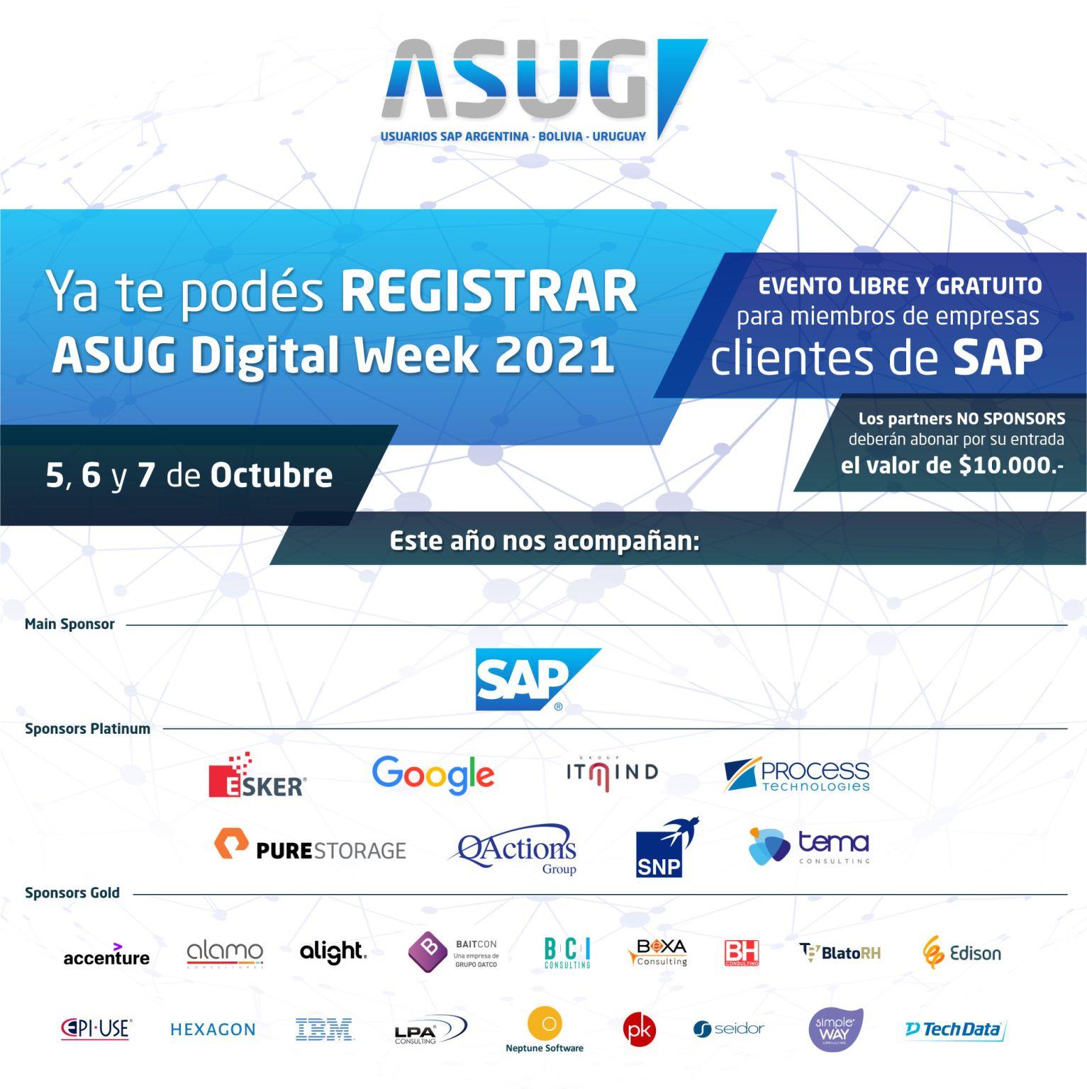 ASUG Digital Week 2021
