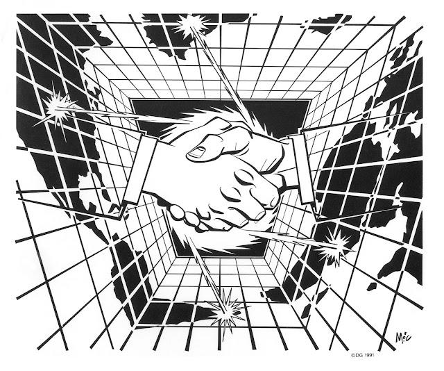 Mitch OConnell clip art handshake