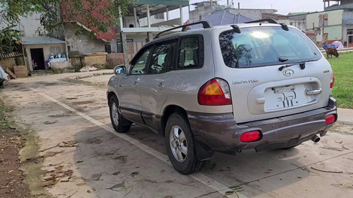 SantaFe đời đầu khiến nhiều người Việt biết đến Hyundai