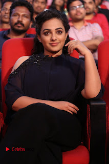 Nithya Menon Latest Stills at at Janatha Garage Movie Audio Launch  0141
