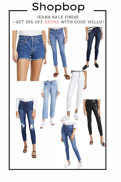 Favorite jeans picks from the Shopbop sale