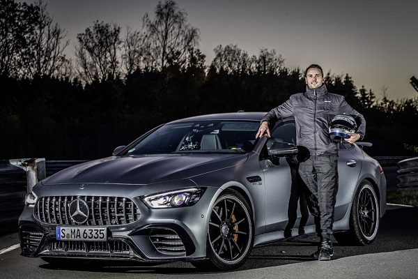 Mercedes AMG GT 63 S 4Matic+ record Nurburgring
