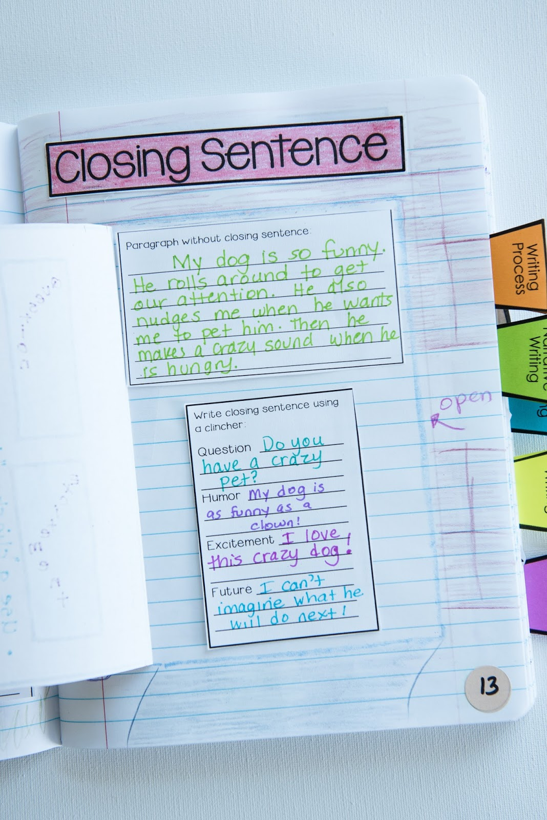 how to write a closing sentence for a paragraph