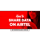 How To Share Data On Airtel Fast