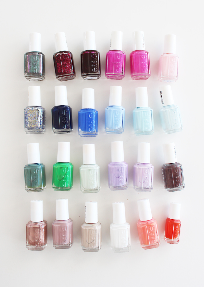 MY ESSIE NAIL POLISH COLLECTION