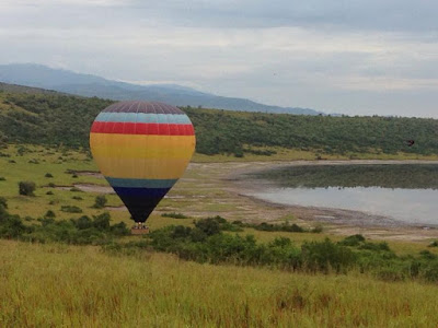 hot air balloon, ballooning, Uganda, Queen Elizabeth, Queen Elizabeth NP, Queen Elizabeth National Park, balloon flights, bush breakfast, flying