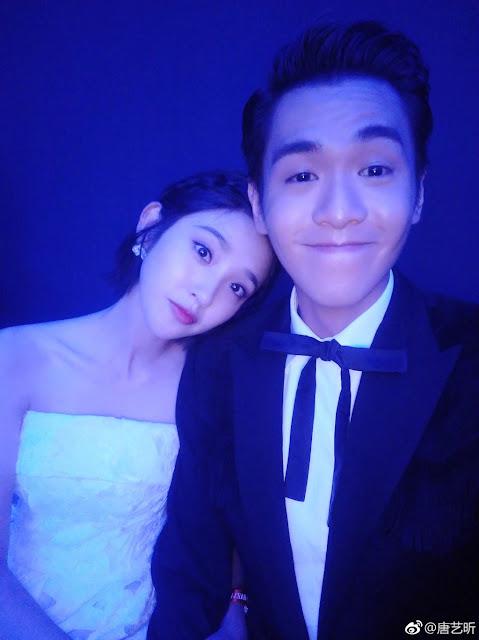 zhang ruoyun tang yixin couple