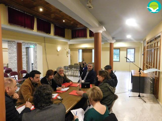 Πρώτη συνεδρίαση του νέου ΔΣ του Φορέα Διαχείρισης Καλαμά-Αχέροντα-Κέρκυρας
